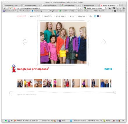 Bengh per principesse site screenshot