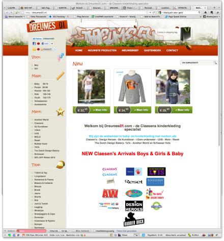 Bezoek webwinkel Dreumes01.com