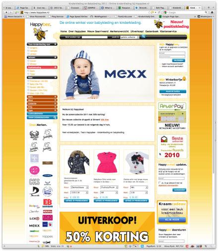 Bezoek webwinkel HappyBee.nl