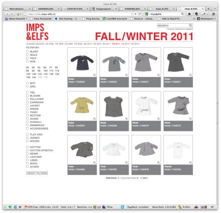 Imps&Elfs site screenshot