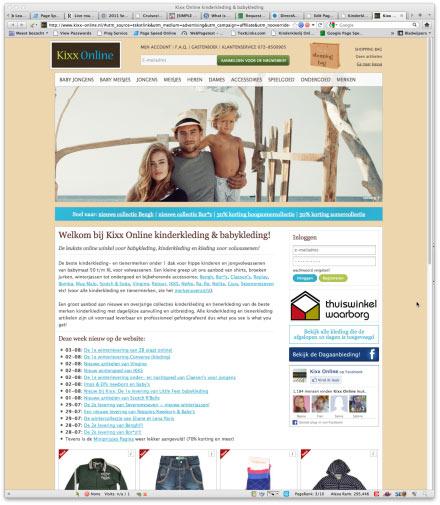Bezoek webwinkel Kixx Online