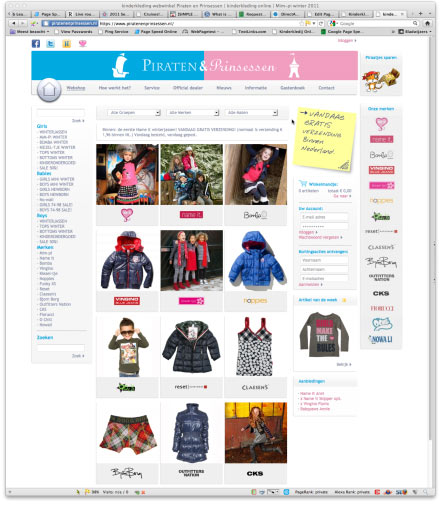 Bezoek webwinkel Piratenenprinsessen.nl