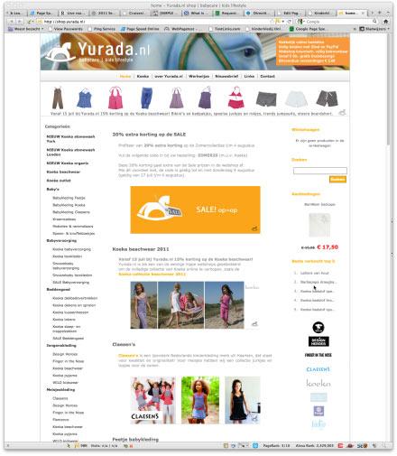 Bezoek webwinkel Yurada.nl